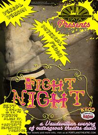 FIGHT NIGHT! A vaudevillian benefit for PATA